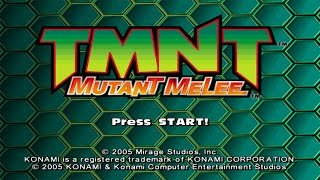 TMNT Mutant Melee PC Gameplay #1