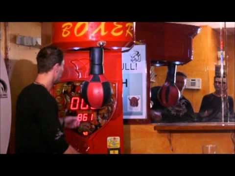 Knockout Vending Boxing Amusement Arcade Games