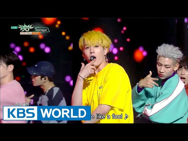 GOT7 - Teenager [Music Bank COMEBACK / 2017.10.13]