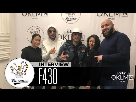 Youtube: F430 (« Thank You God », parcours, la relation avec PNL…) #LaSauce sur OKLM Radio