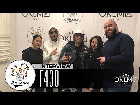 Youtube: F430 («Thank You God», parcours, la relation avec PNL…) #LaSauce sur OKLM Radio