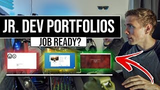 JOB READY? JR. DEVELOPER PORTFOLIOS #grindreel