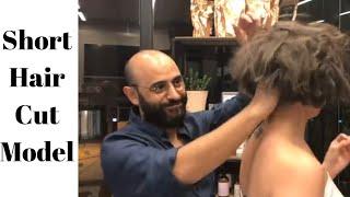 Kadın Kısa Küt Saç Kesim Modelleri