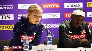 DARYA KLISHINA TALKS RUSSIA, BRONZE AND BRITTNEY REECE TALKS WINNING GOLD