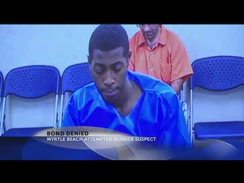 Bond denied for suspected gunman in Myrtle Beach shooting streamed on Facebook Live