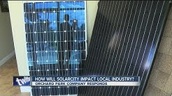 How will Solar City impact local industry?
