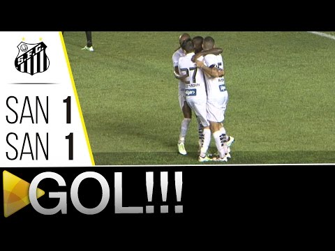 Santos (AP) 1 x 1 Santos | GOL | Copa do Brasil (21/04/16)