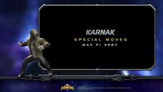 Karnak Special Moves | Marvel Contest of Cham...