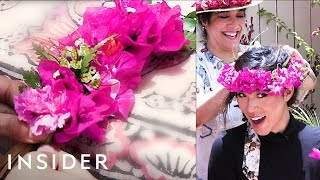 We Learned The Art Of Lei-Making From An Expert