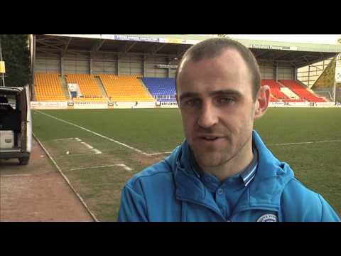 Tommy Wright & Dave Mackay post match v St. Mirren 21/3/15