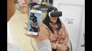 Felix the cat virtual reality