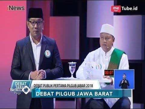 Cuplikan Debat Pilgub Jabar: Seru, Serius, dan Lucu - iNews Pagi 13/03
