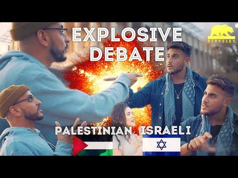 EXPLOSIVE! Israeli & Palestinian Debate at UC Berkeley