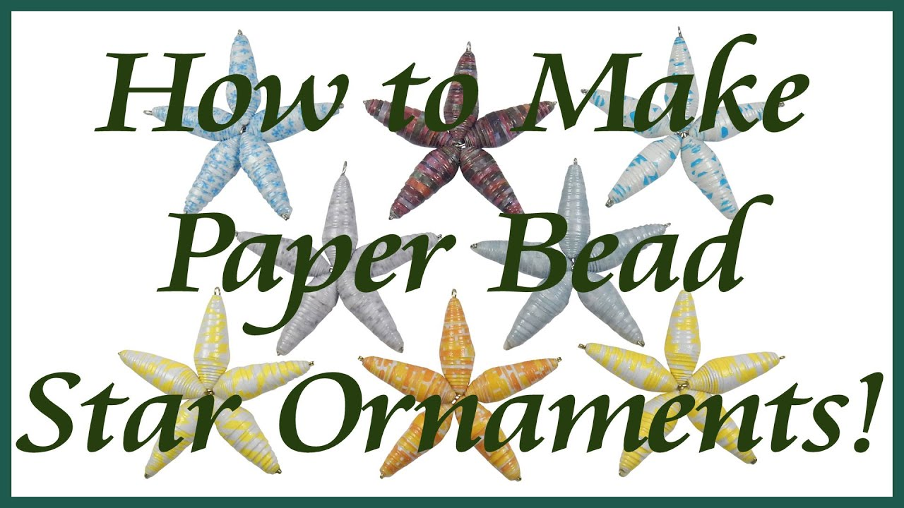 how to make paper stars on youtube