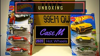 Unboxing - Hot Wheels Case M 2020