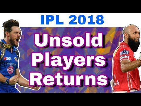 IPL 2018 : List Of 5 Unsold Players To Return Back in IPL 11 Season | IPL 2018 Auction