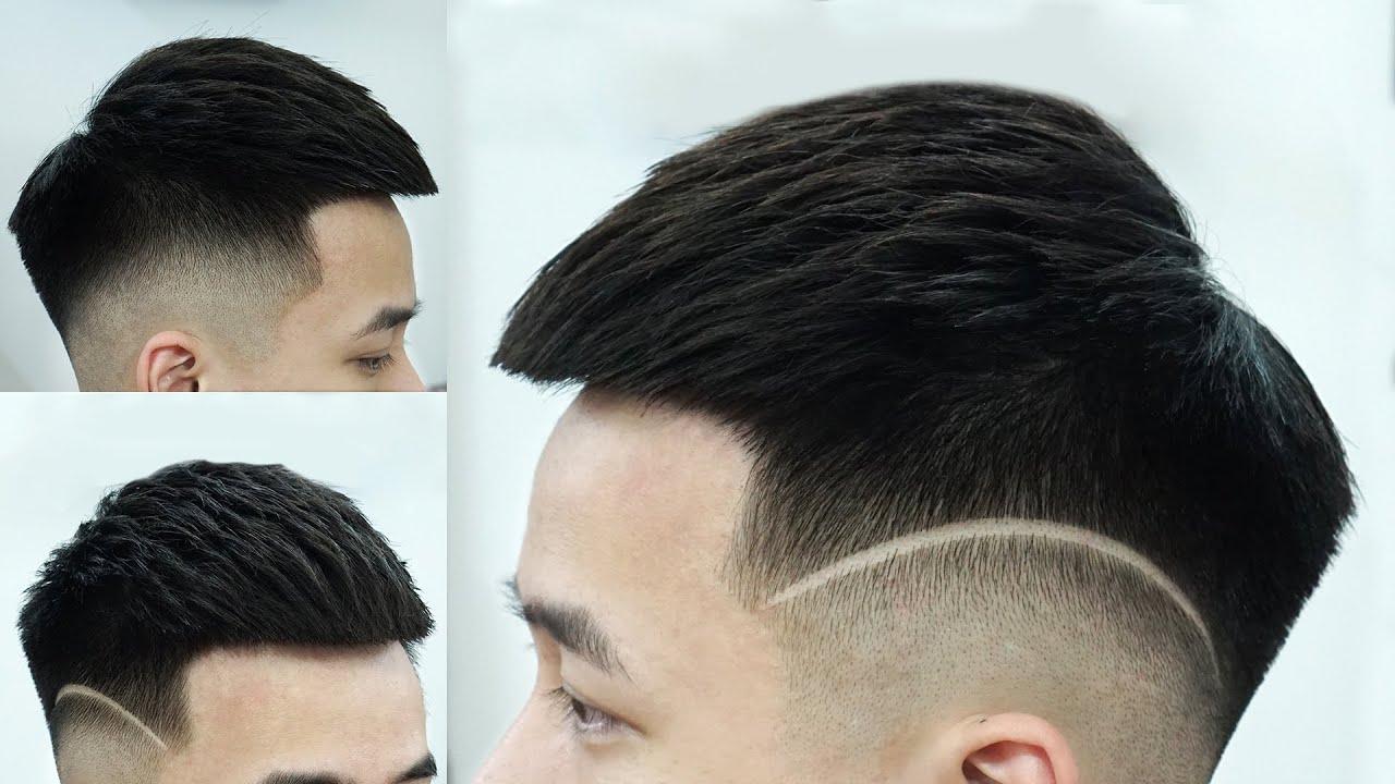 Kiểu tóc MOHICAN  – Cắt tóc nam đẹp 2020 – Chính Barber Shop
