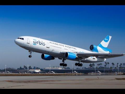 Orbis McDonnell Douglas DC-10 Last Flight out of Long Beach