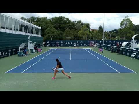 Peng Shuai/Zarina Diyas Practice | WTA Kuala Lumpur 2017