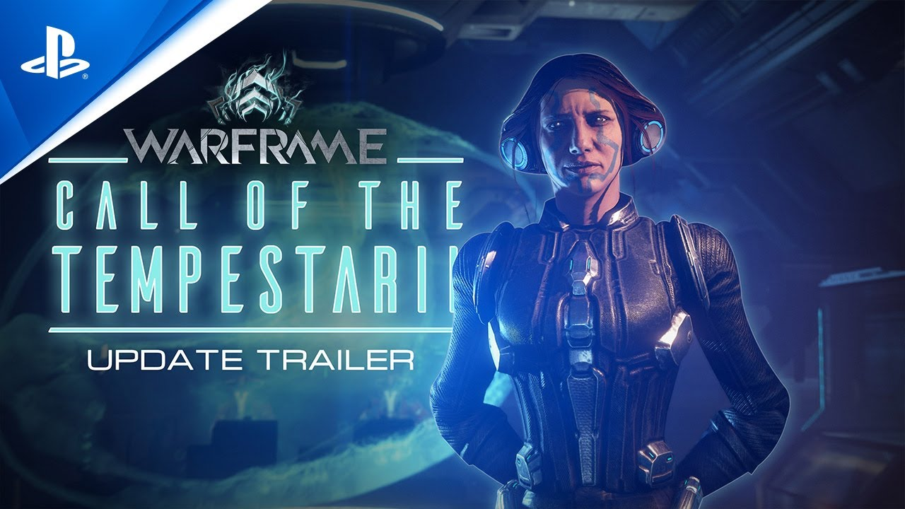 Warframe: L'appel du Tempestarii - Disponible dès maintenant | PS5, PS4