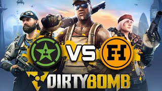 Funhaus VS Achievement Hunter - Dirty Bomb Gameplay