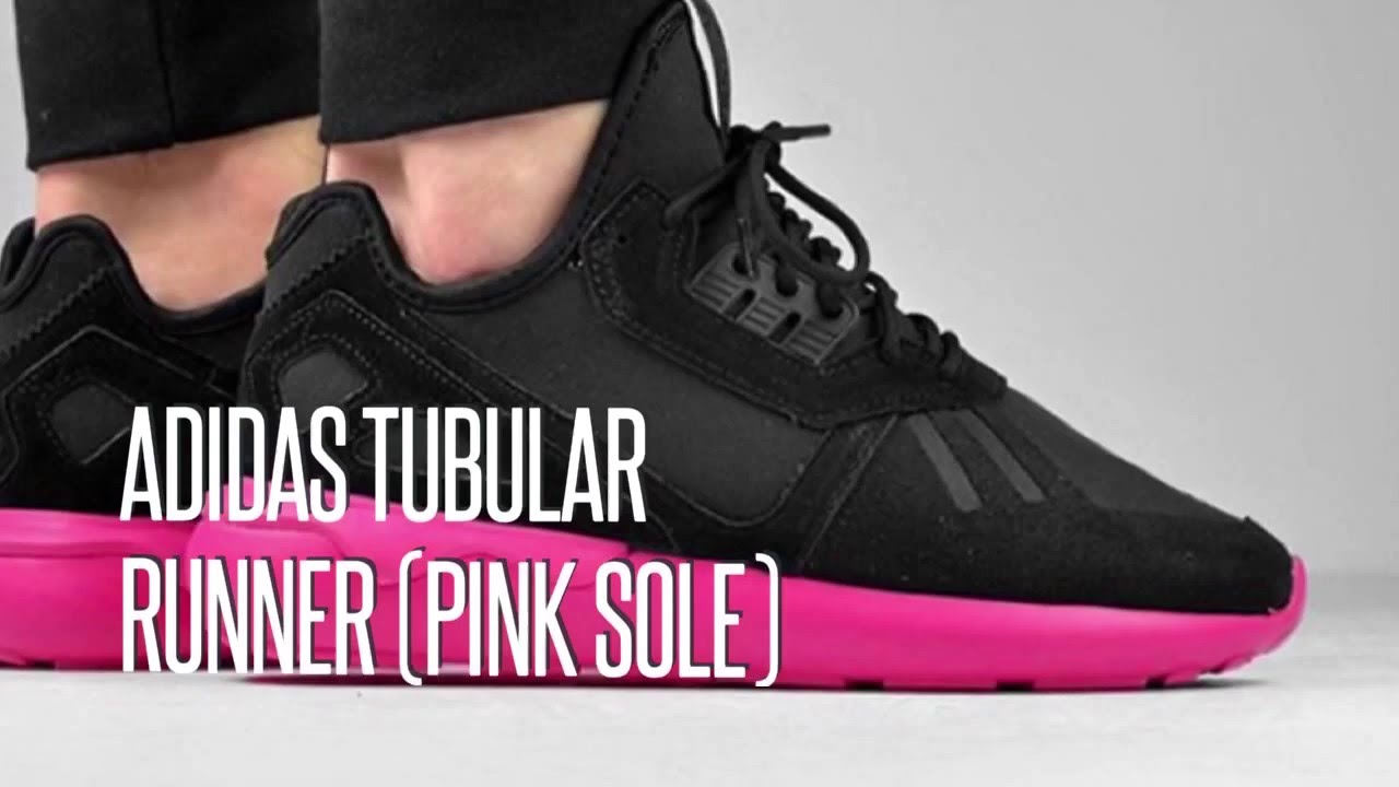 Adidas Tubular Black And Pink