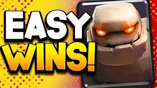 #1 OP GOLEM DECK! Strongest Since Night Witch Release! Top 20 Ladder!