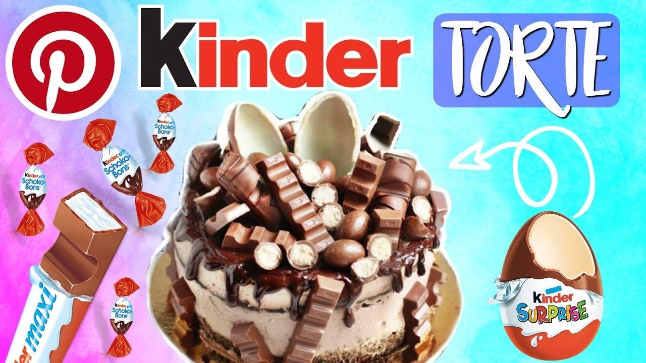 Kinderriegel Torte ohne Backen Pinterest Rezept im Live Test  YouTube
