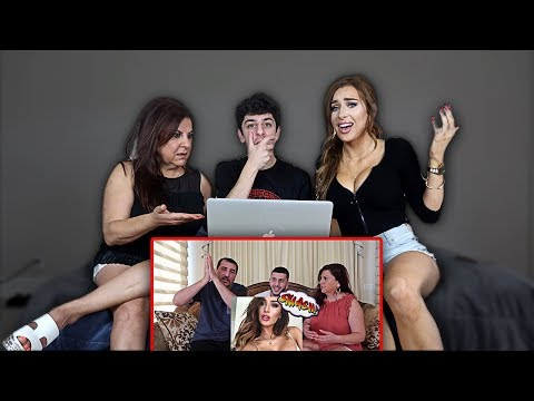 MOLLY REACTS TO MY DAD SMASHING OR PASSING HER... (ft. Mom) | FaZe Rug