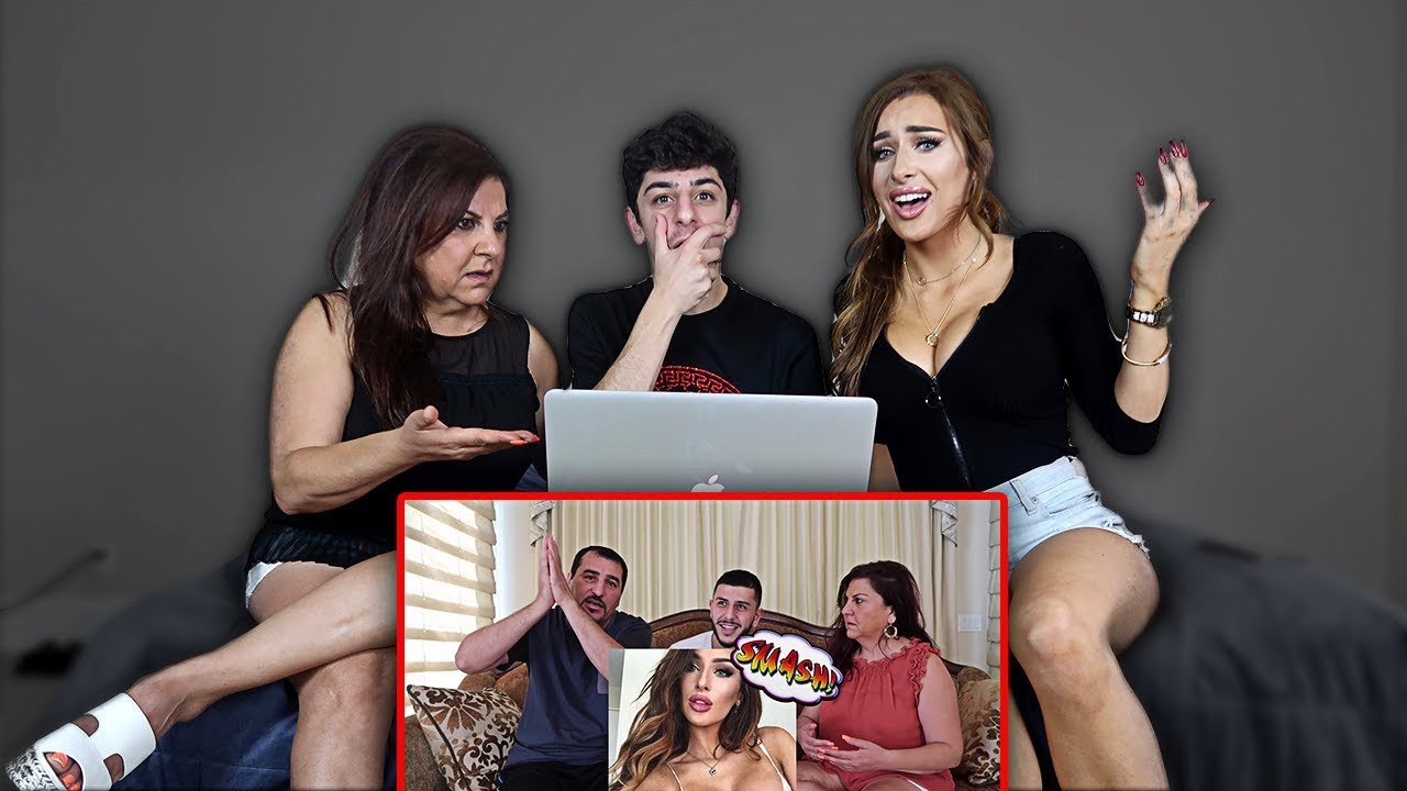 Molly Reacts To My Dad Smashing Or Passing Her Ft Mom Faze Rug