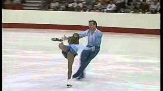Berezhnaya & Shliakhov (World) - 1995 International Team Challenge, Figure Skating, Short Programs