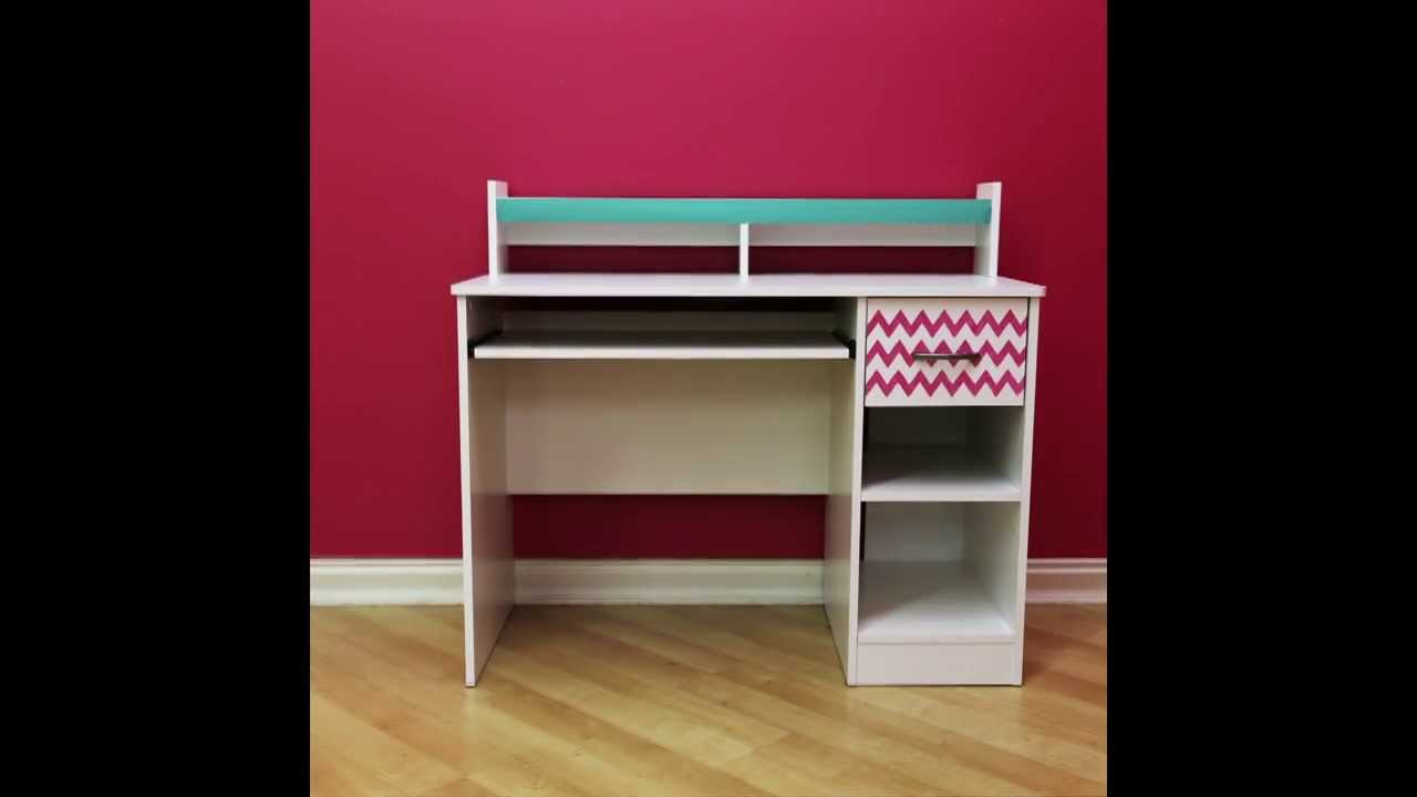 Convert your desk into a makeup table  YouTube