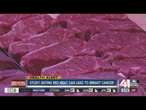 Study: red meat can lead to breast cancer
