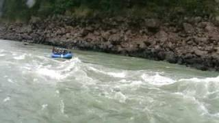 Dangerous Rafting through Grade 4 rapids- Golf Course, Shivpuri to Rishikesh