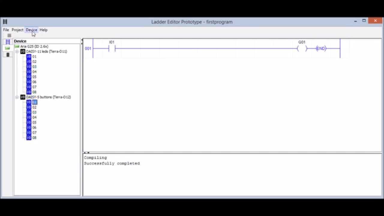 Ladder Editor Prototype