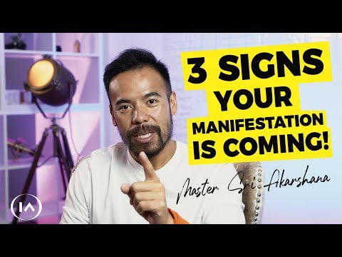 3 Unexpected Signs Your Manifestation Is Coming Your Way   Law Of Attraction