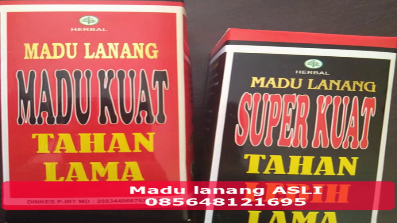 Termurah Promo Murah Madu Lanang Asli 085211432205 Youtube Original Kuat Super