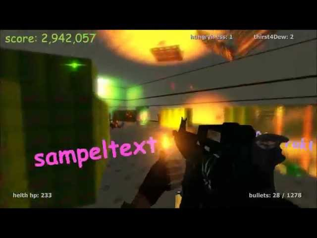dubstep and gifs abound in fps montage parody game rock paper