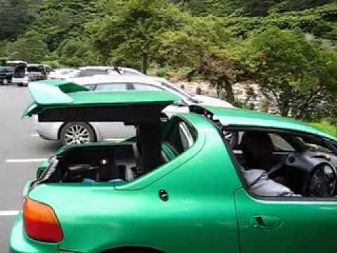 honda cr  del sol transtop automatic electronic roof close demonstration youtube