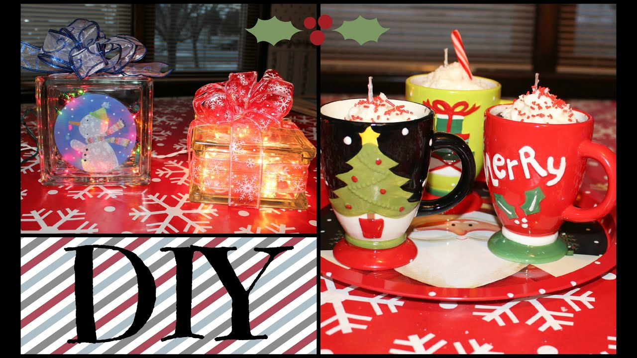 2 DIY Christmas Gifts! [Collab with SimplyBeautyChic1] Hot Cocoa ...