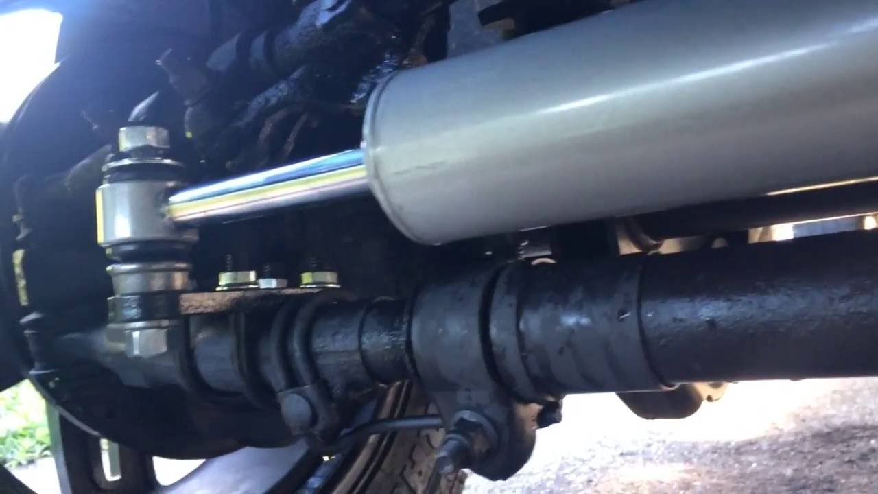 2011 F250 How To Dual Steering Stabilizer Install