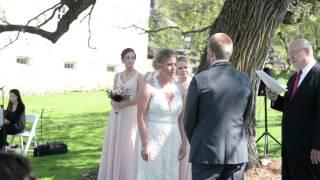 Leah and Jacob: wedding ceremony