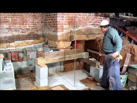 John carroll crawlspace excavation part 1 youtube for Making a crawl space into a full basement