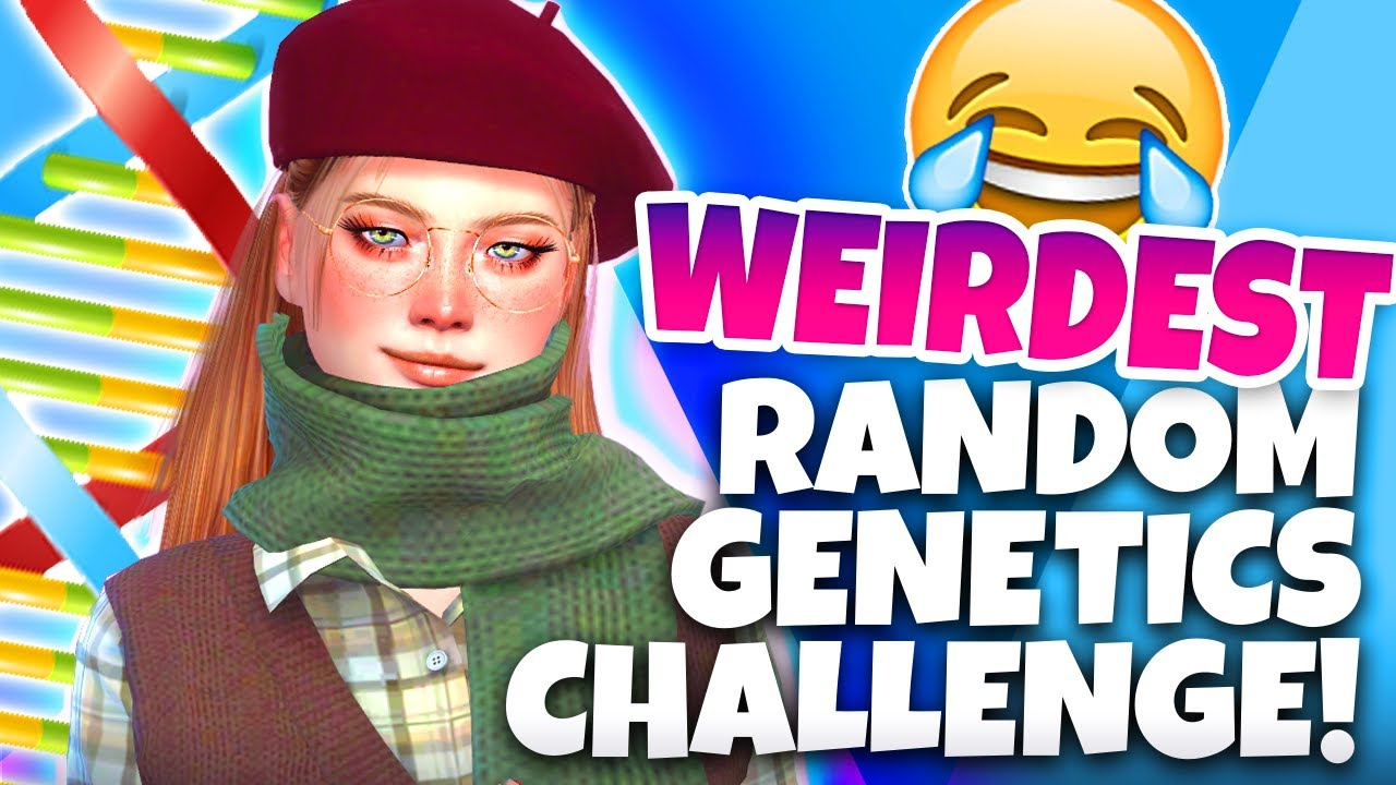 Download the most chaotic RANDOM GENETICS CHALLENGE... (The Sims 4)