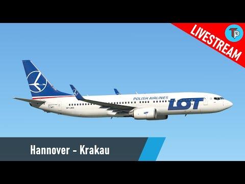 X-Plane 11 | Hannover - Krakau (EDDV - EPKK) | Boeing 737-800 | LOT | IVAO