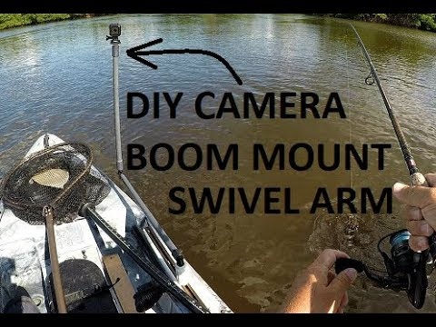 DIY 360 Swivel Boom Camera Mount For Kayaks