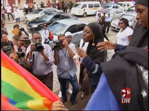 Clashes Outside Court As Judge Rules In Favour Of Gay Activist Challenging Buggery Law