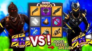 FORTNITE BINGO MET JOOST!! - Fortnite Playground (Nederlands)