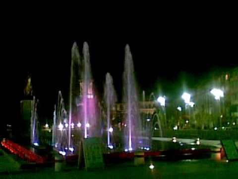 Musical Fountain From Craiova ( Romania )