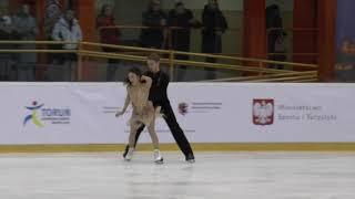 13 Madison CHOCK / Evan BATES - USA - Senior Ice Dance FD - Mentor Torun Cup 2019